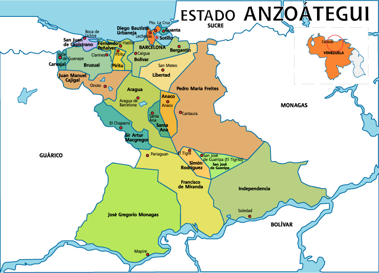 Hospedaje - Venezuela - Estado Anzoategui - Hoteles y Posadas